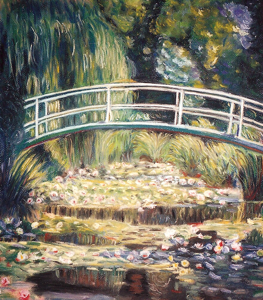 """After Monet - """"Le Bassin aux nymphéas"""" by Marilyn Brown"""
