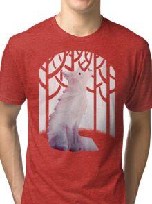 Fox in the Snow Tri-blend T-Shirt