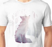 Fox in the Snow Unisex T-Shirt