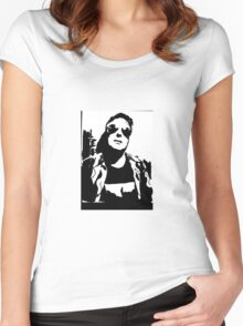 jello biafra Women's Fitted Scoop T-Shirt