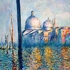 After Monet - &quot;The Grand Canal&quot; by Marilyn Brown