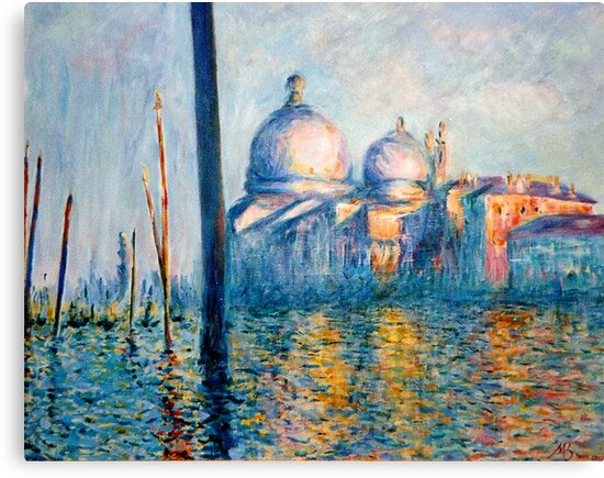"""After Monet - """"The Grand Canal"""" by Marilyn Brown"""