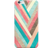 Palisade 1 - Geometric Abstract in Pastel Colors iPhone Case/Skin