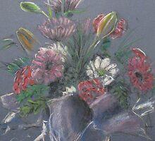 Vase of Flowers by Jayde Nossiter