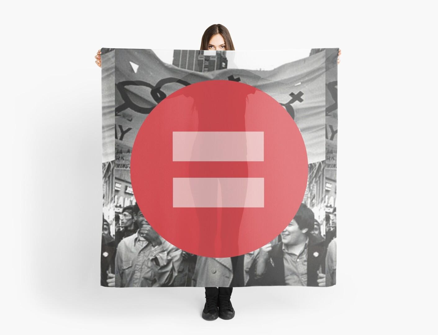 Equal Love Stonewall Circle by DomaDART