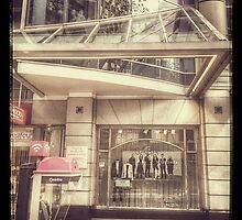 Collins Street Shops by visualimagery