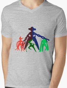 the DNA Family Mens V-Neck T-Shirt