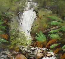 Stevenson Falls by Mick Kupresanin