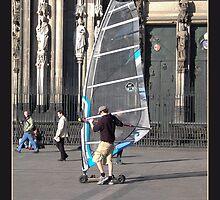 Surfin' through the city by Rowan  Lewgalon