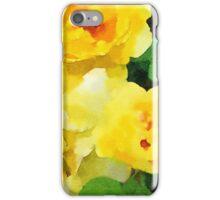 Renew - Yellow Flowers in Watercolor iPhone Case/Skin