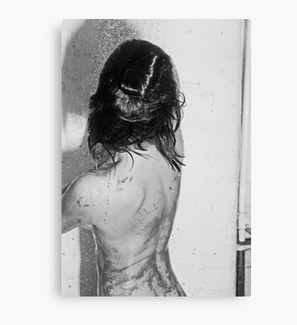not the shower scene from pycho Canvas Print