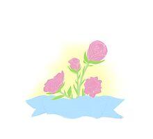 Ribbon Roses by Hakamorra
