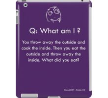 Riddle #8 iPad Case/Skin