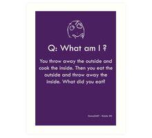 Riddle #8 Art Print