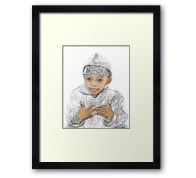 Ten is the Number Framed Print