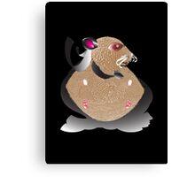 Superhero Hamster Canvas Print