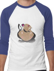 Superhero Hamster Men's Baseball ¾ T-Shirt