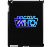 Doctor Who 80s Logo iPad Case/Skin