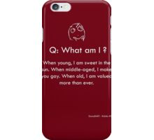 Riddle #9 iPhone Case/Skin