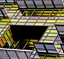 Cop Shop Glass by Frank Falco