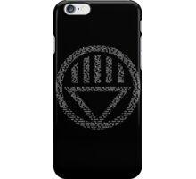Black Lantern Oath  iPhone Case/Skin