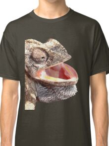 Chameleon with Happy Smiling Expression Vector Classic T-Shirt