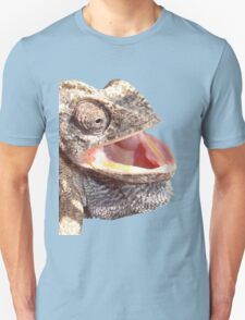 Chameleon with Happy Smiling Expression Vector T-Shirt