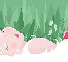 Asleep by oksancia