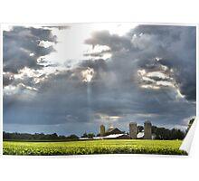 Blanketing the Farm Poster