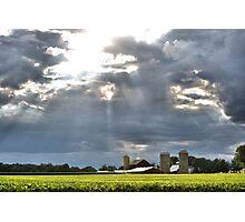 Blanketing the Farm Photographic Print