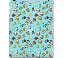 Mario Kart 8 Items Pattern iPad Case/Skin
