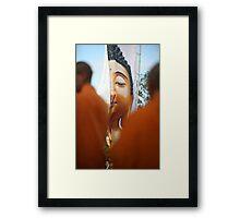 Buddhist Festival Framed Print