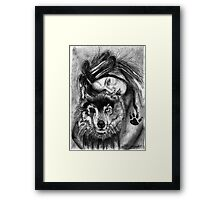 Something twisted Framed Print