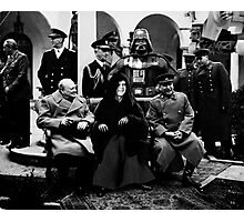 History Rewritten... The Star Wars Empire Forever! Photographic Print