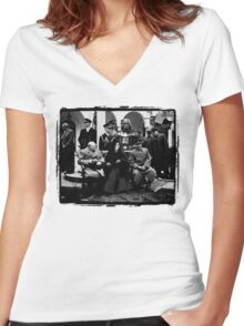 History Rewritten... The Star Wars Empire Forever! Women's Fitted V-Neck T-Shirt