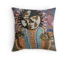 fertility goddess Throw Pillow