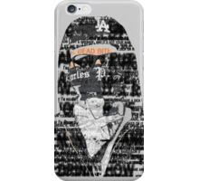 Charlie Scene (Hollywood Undead) Typography iPhone Case/Skin