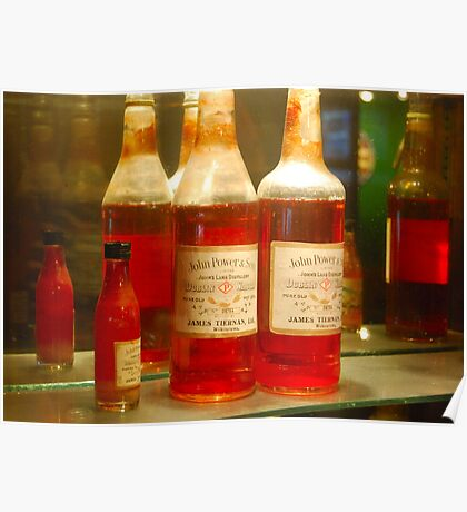 John Power & Son Dublin Whisky Poster