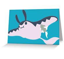 The Johto Ray Greeting Card