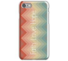 Faith Love Hope iPhone Case/Skin
