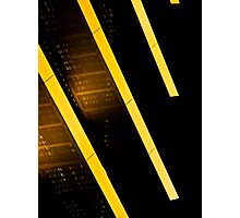 Grate Lines Photographic Print
