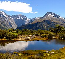 Key Summit on Routeburn Track by thereisnosquare