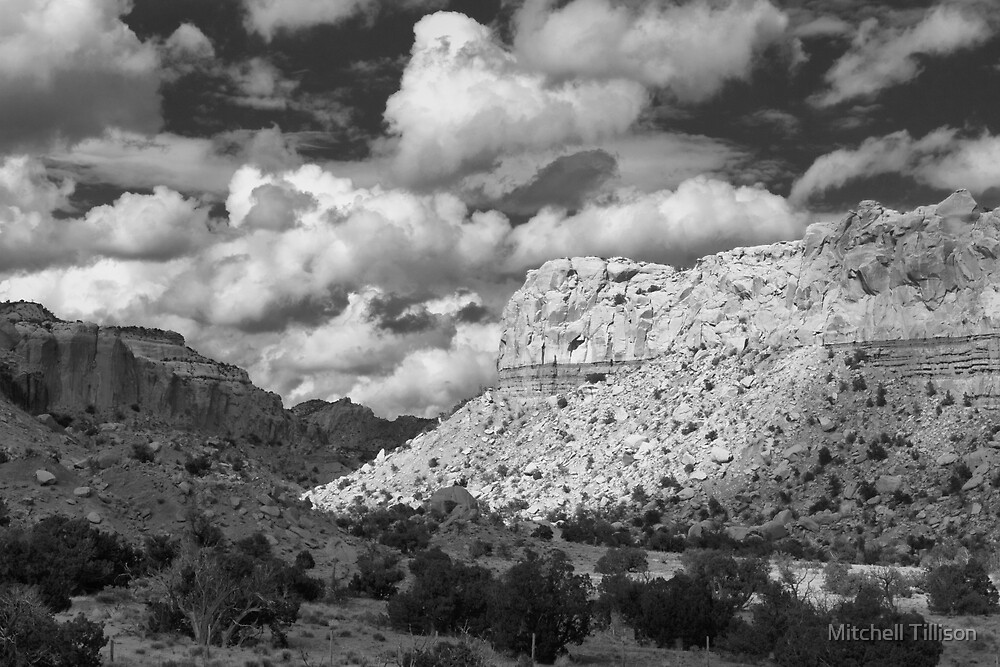 Variable Light, Ghost Ranch, New Mexico by Mitchell Tillison