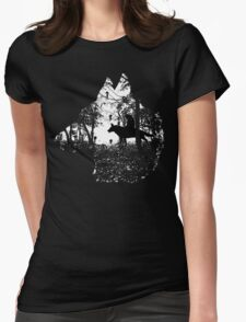 Mononoke Forest Womens Fitted T-Shirt