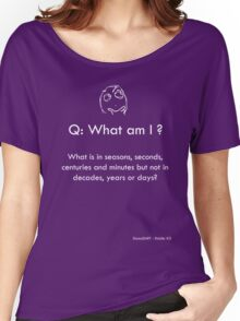 Riddle #3 Women's Relaxed Fit T-Shirt