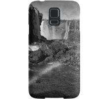Iguazu Falls Rainbow - In Monochrome Samsung Galaxy Case/Skin
