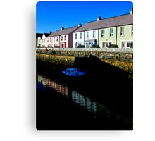 sur le continent killyleagh reflections #2 Canvas Print