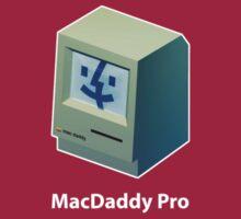 Mac Daddy Pro Badge - creativebloke.com - t shirt by creativebloke