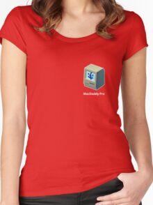 Mac Daddy Pro Badge - creativebloke.com - t shirt Women's Fitted Scoop T-Shirt