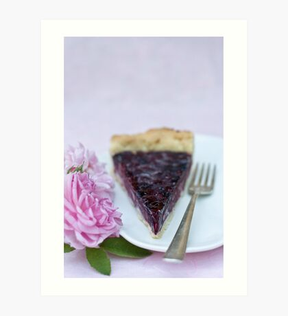 Slice of pie Art Print